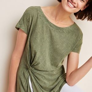 Anthropologie Knotted Tunic